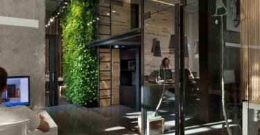 Дизайн интерьера офиса дизайнерской мастерской Makhno Studio в Киеве