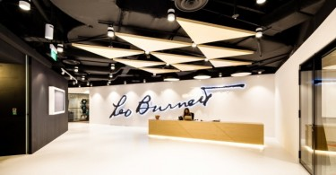 Дизайн рекламной компании Leo Burnett Singapore в Сингапуре