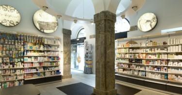 Неповторимый интерьер аптеки Zubia в Бильбао