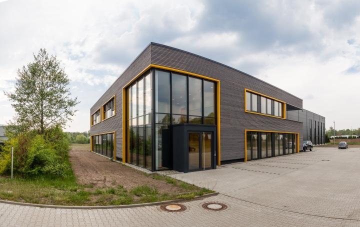 Здание офиса компании Pollmeier