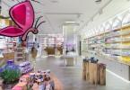 Необычное оформление аптеки S´ana в Мадриде