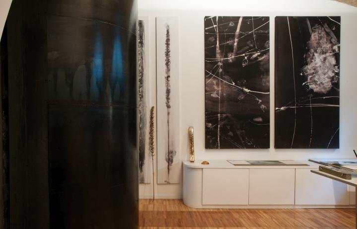 Дизайн интерьера галереи картин