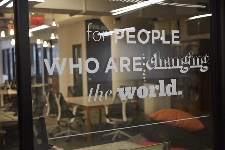 Коворкинг-офис Центра социальных инноваций в Нью Йорке