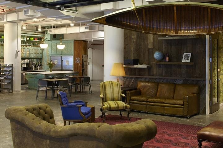 Коворкинг-офис в промышленном стиле
