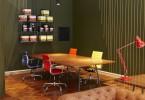 Неповторимый дизайн интерьера офиса Striped Horse Headquarters