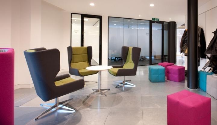 Комната для отдыха сотрудников в офисе