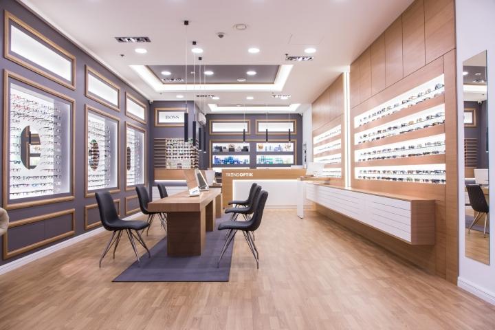 Дизайн магазина оптики оформление интерьера - фото 3