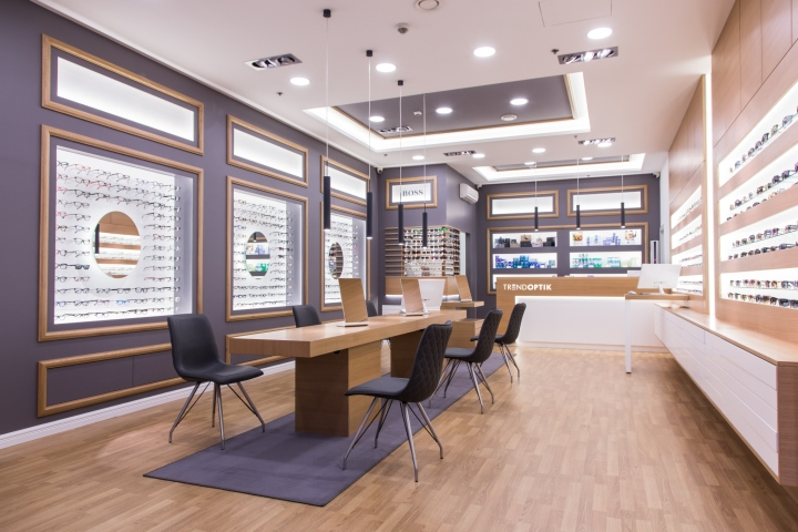 Дизайн магазина оптики Trend Optik
