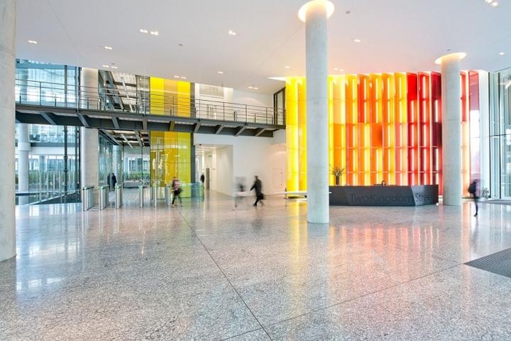 Дизайн офиса компании Kaspersky Lab в Лондоне