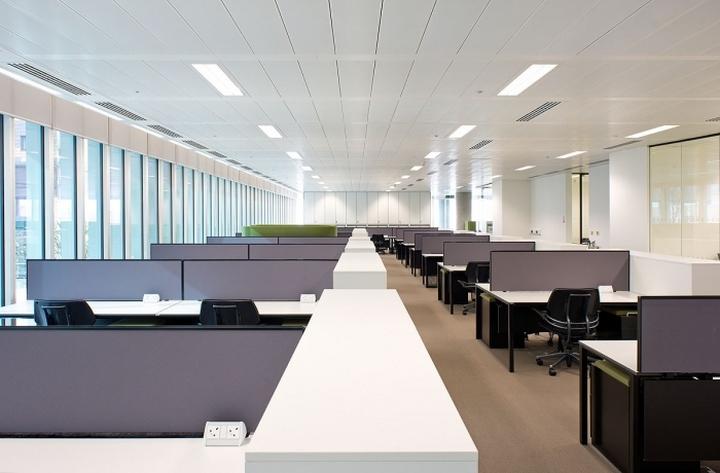 Рабочие места офиса компании Kaspersky Lab в Лондоне