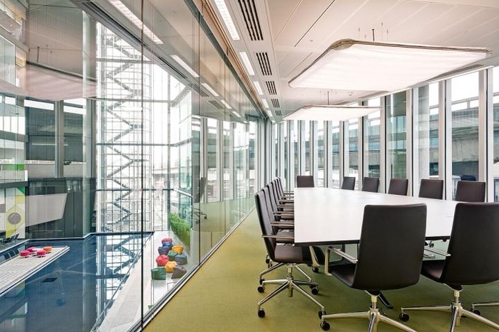Конференц-зал офиса компании Kaspersky Lab в Лондоне