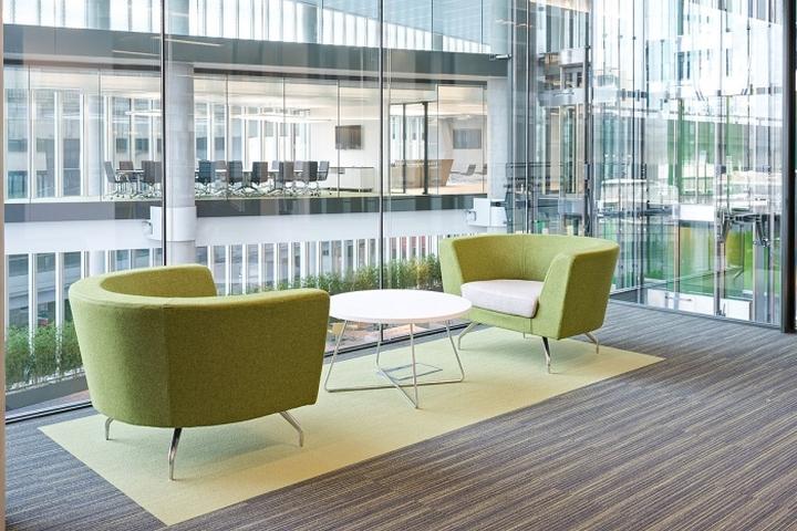 Место для переговоров офиса компании Kaspersky Lab в Лондоне