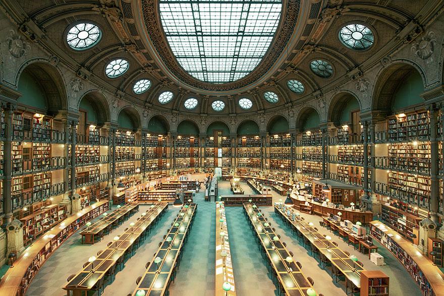 Величественные библиотеки мира: Национальная библиотека Франции