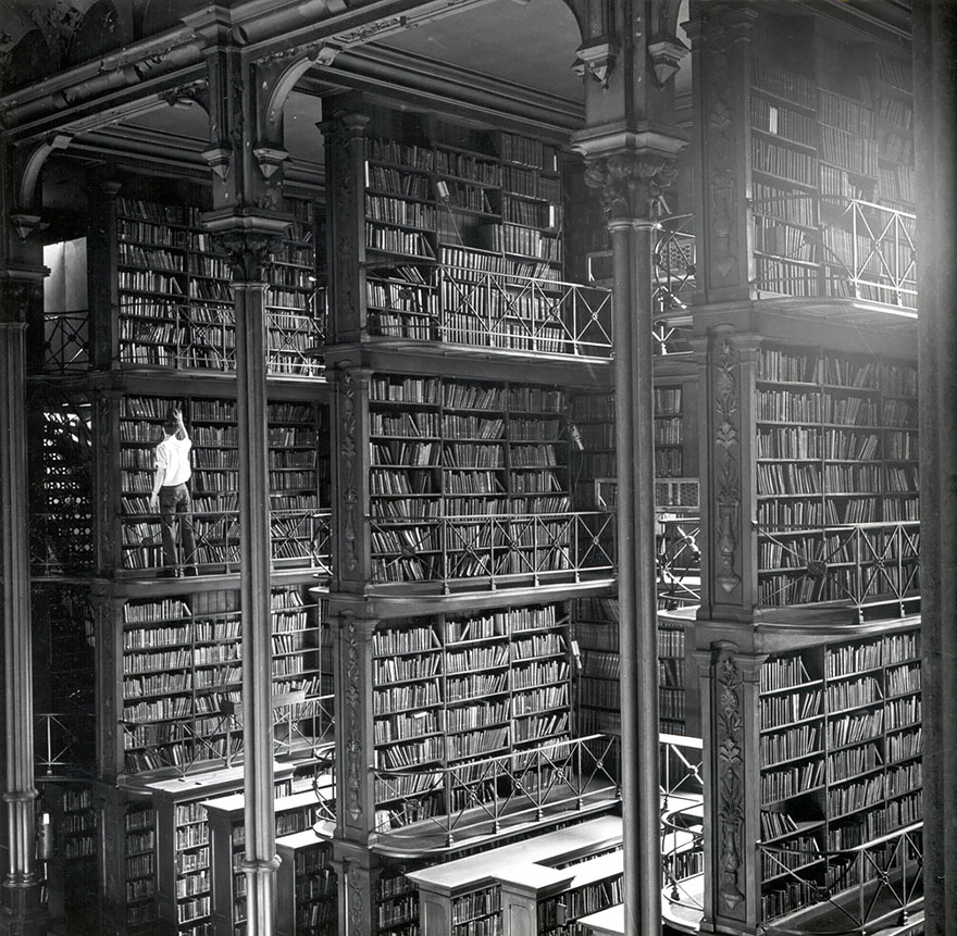 Величественные библиотеки мира: старая Общественная библиотека Цинциннати