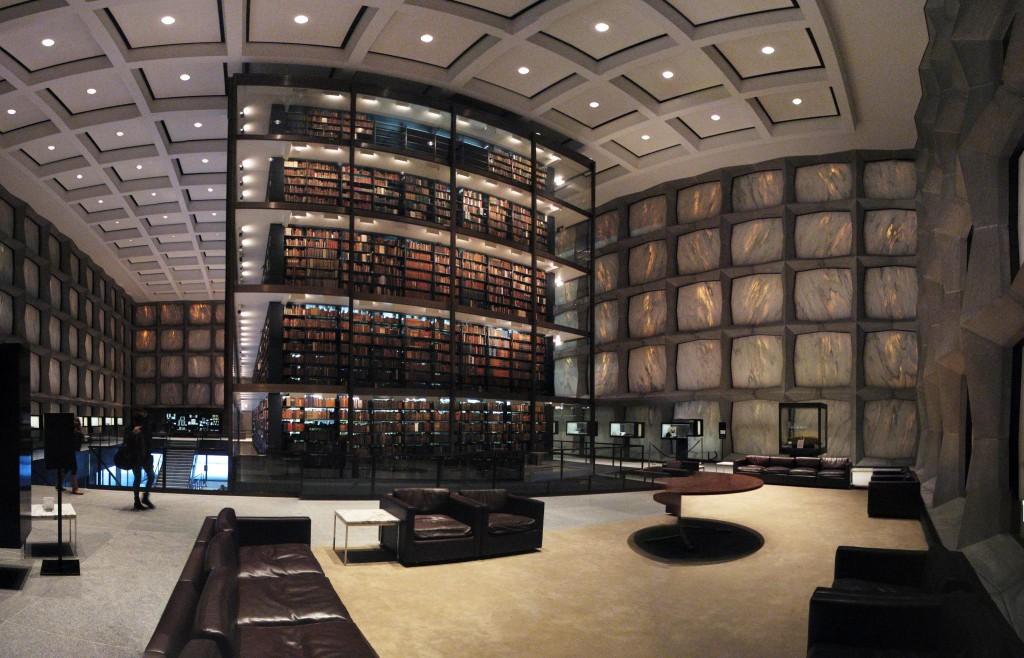 Величественные библиотеки мира: Beinecke Rare Book & Manuscript Library