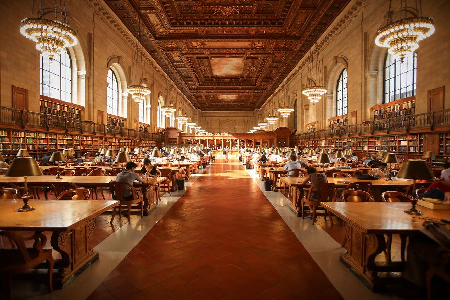 Величественные библиотеки мира: общественная библиотека Нью-Йорка