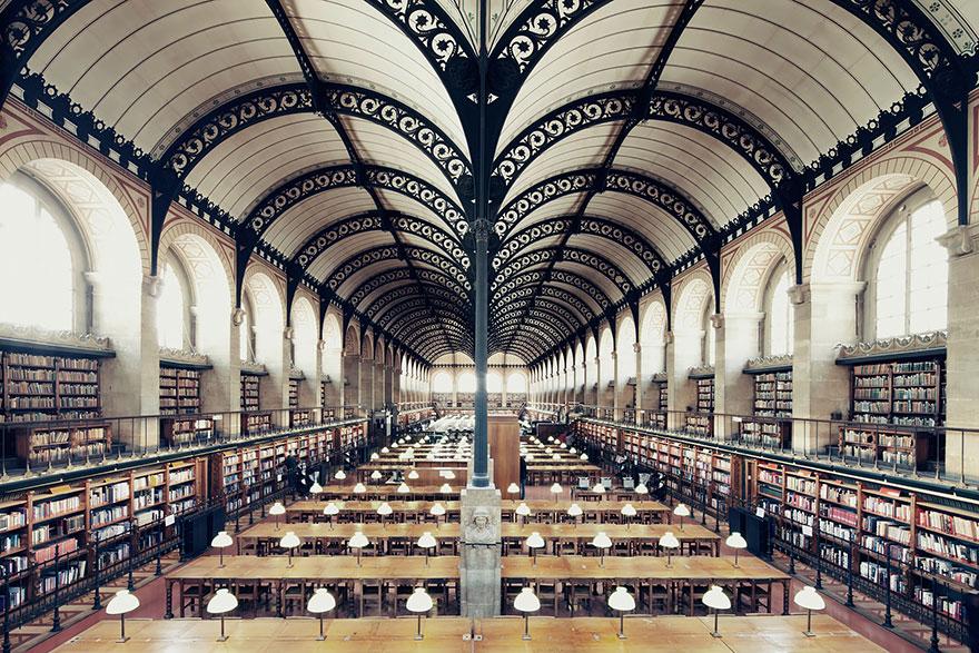Величественные библиотеки мира: библиотека Сент Женевьев
