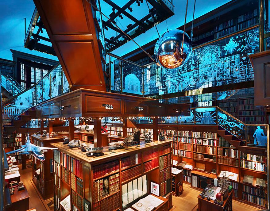 Величественные библиотеки мира: Библиотека Уокер