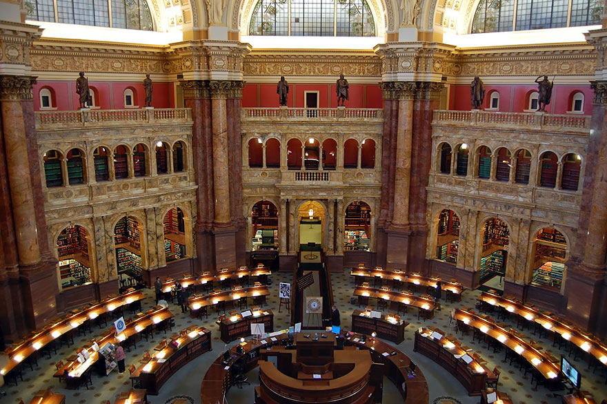 Величественные библиотеки мира: Библиотека Конгресса