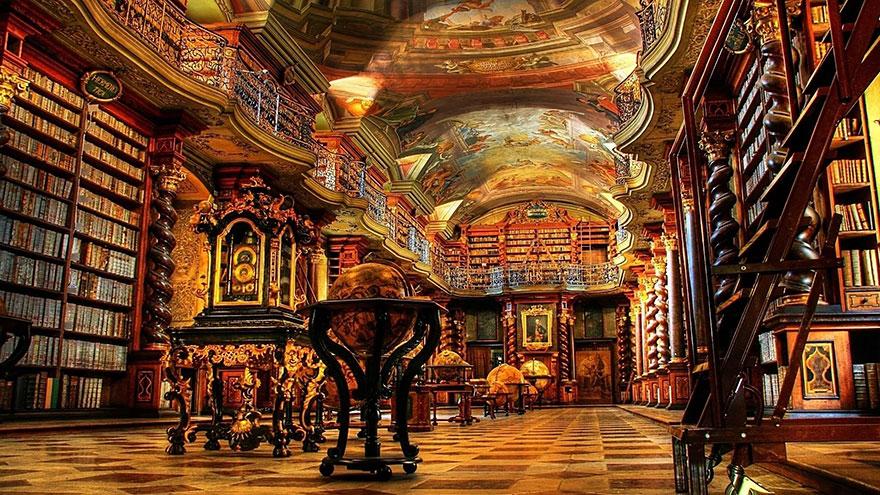 Величественные библиотеки мира: Национальная пражская библиотека
