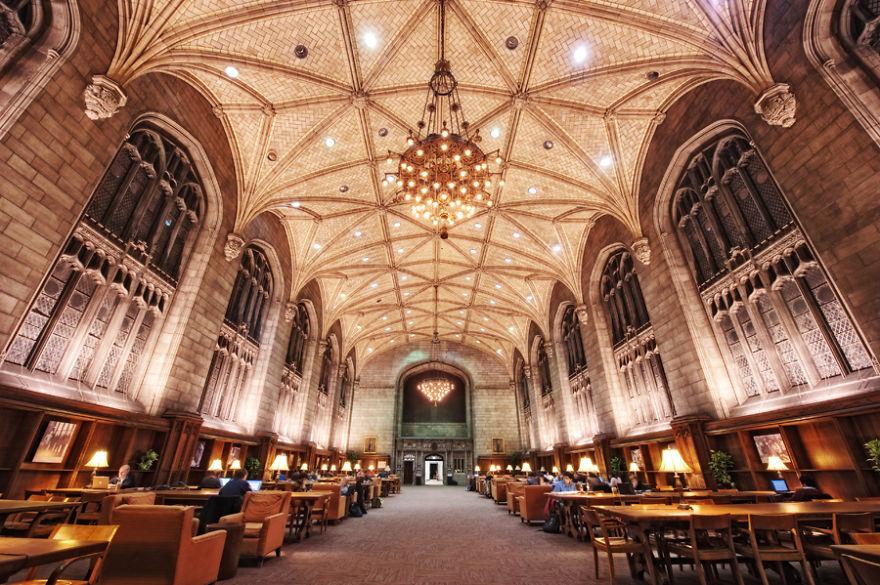 Величественные библиотеки мира: Библиотека Харпер