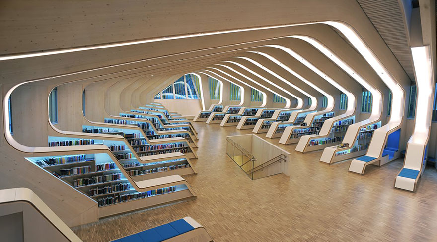 Величественные библиотеки мира: Библиотека Веннесла