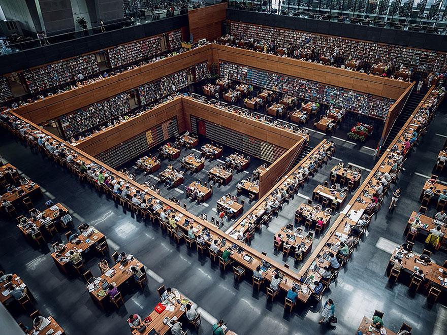 Величественные библиотеки мира: Китайская национальная библиотека