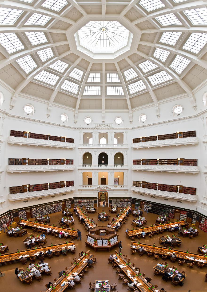 Величественные библиотеки мира: Государственная библиотека Виктории