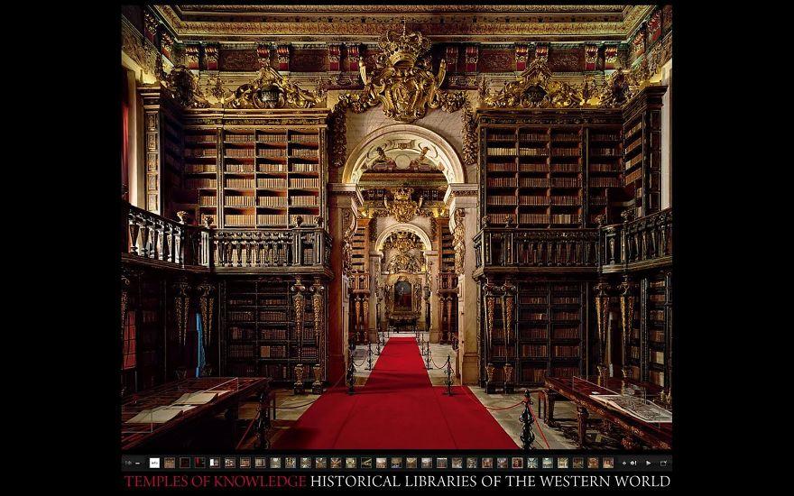 Величественные библиотеки мира: Библиотека университета Коимбра