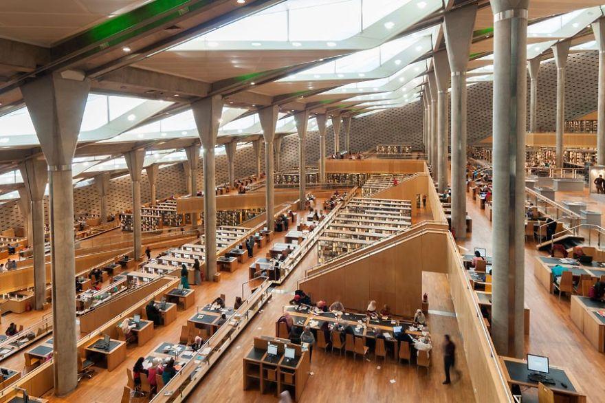 Величественные библиотеки мира:Александрийская библиотека