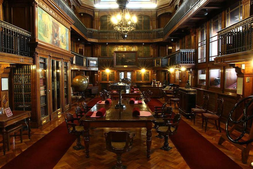 Величественные библиотеки мира: Национальная библиотека Чили