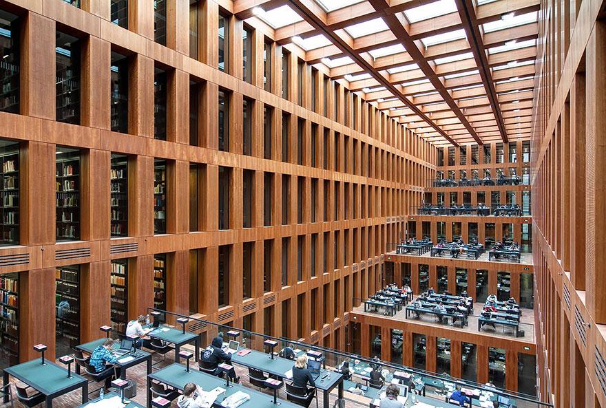 Величественные библиотеки мира: Библиотека университета Гумбольдта