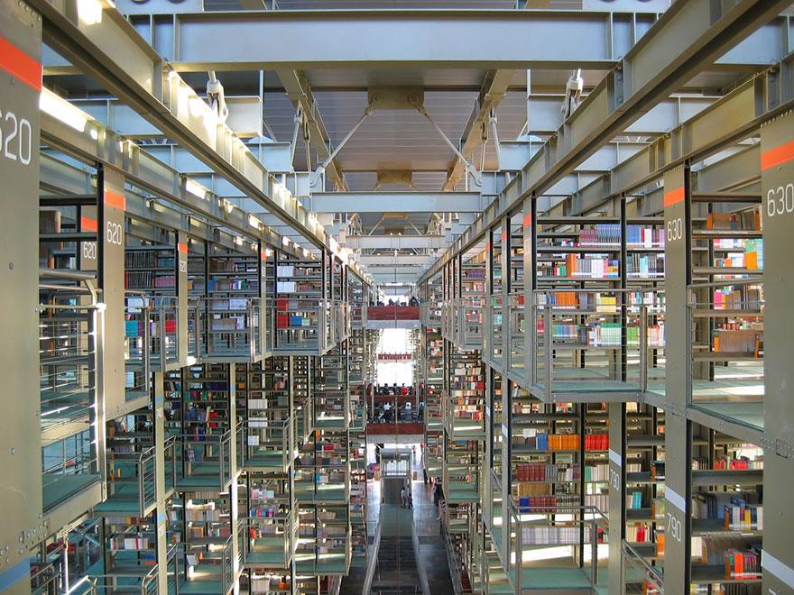 Величественные библиотеки мира: Библиотека Хосе Васконселос