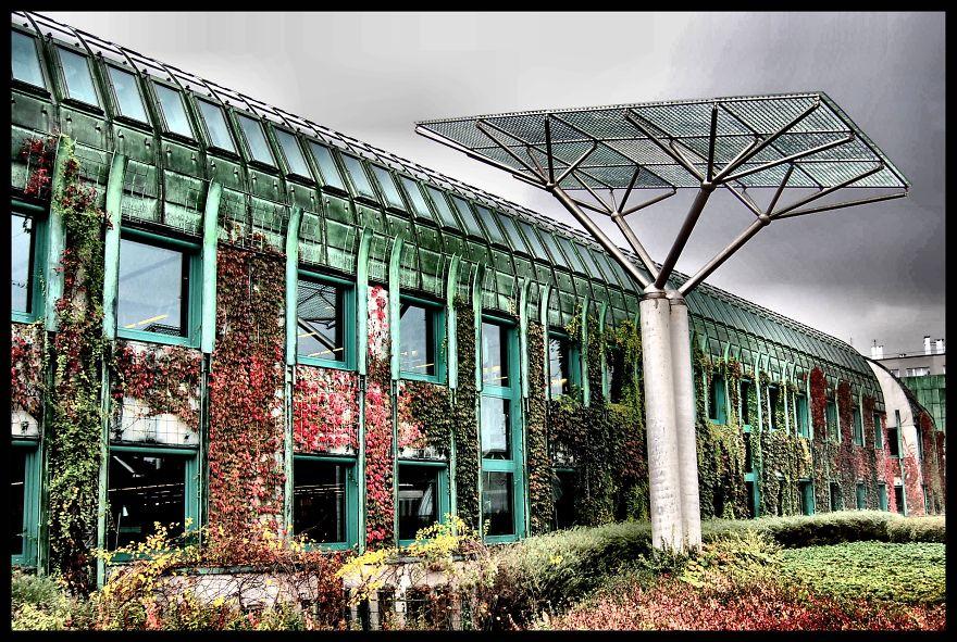 Величественные библиотеки мира: строительство университетской библиотеки в Варшаве