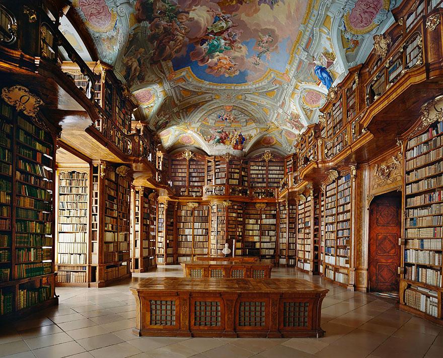 Величественные библиотеки мира: Монастырь Святого Флориана