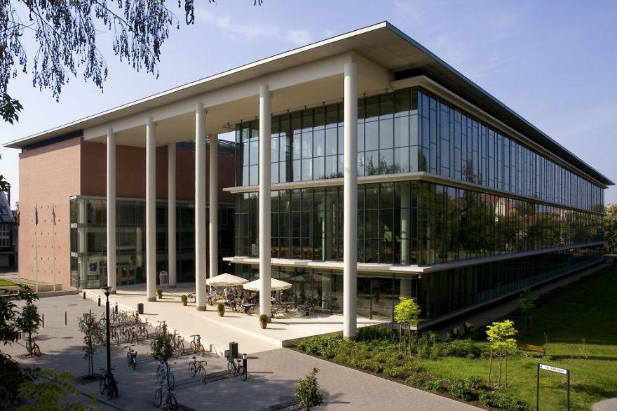 Величественные библиотеки мира: 50 Szte Klebelsberg Library
