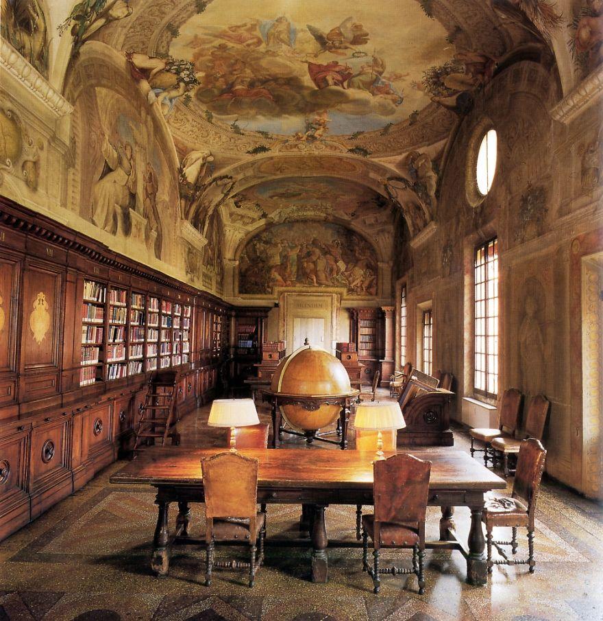 Величественные библиотеки мира: Библиотека ортопедического института Риззоли