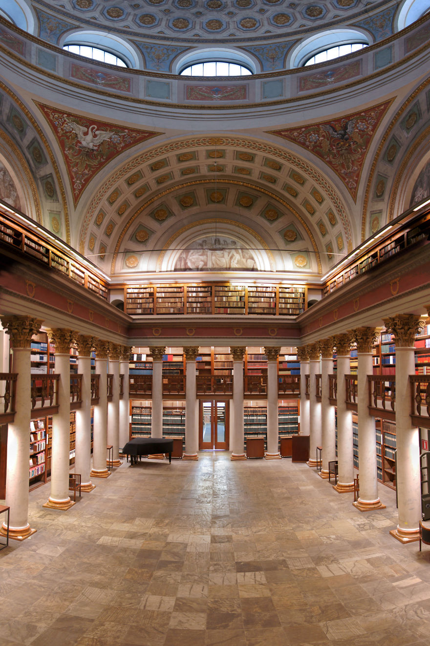 Величественные библиотеки мира: Национальная библиотека Латвии