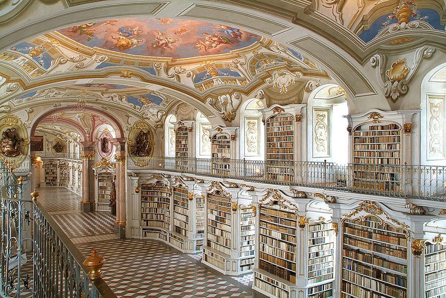 Величественные библиотеки мира: Библиотека Адмонт