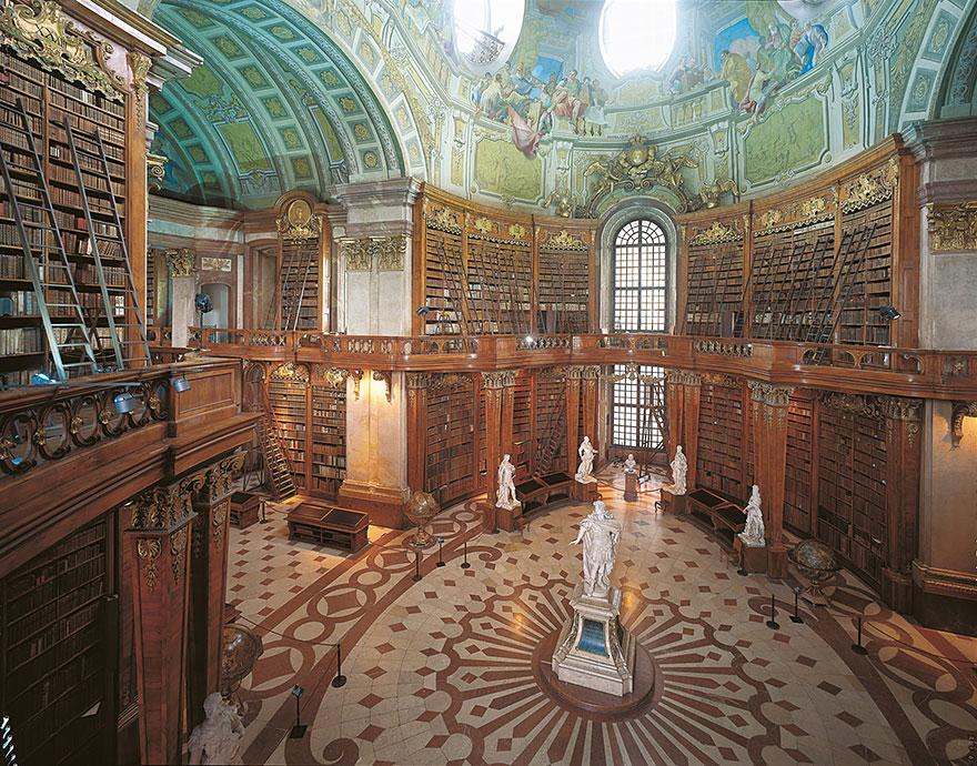 Величественные библиотеки мира: Австрийская Национальная библиотека