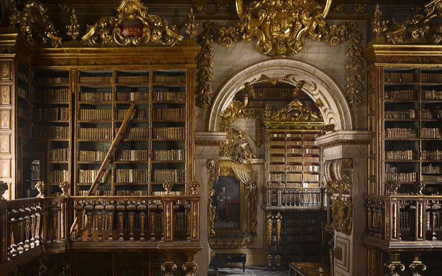 Величественные библиотеки мира: библиотека в стиле барокко