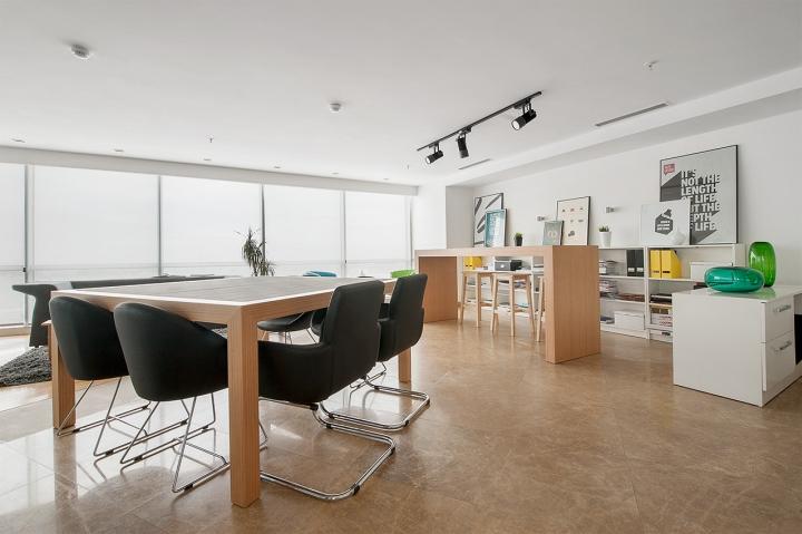 Место для переговоров  в студии дизайна Vogue Design