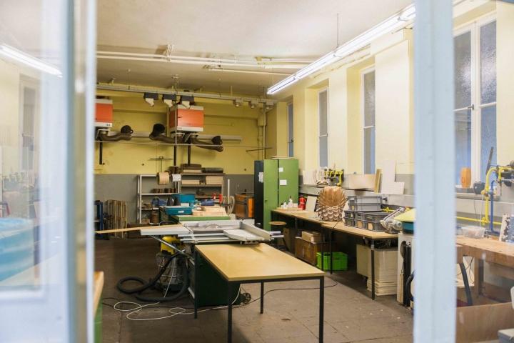 Интерьер в офисе и мастерской