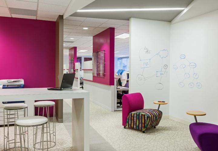 Креативный дизайн офиса компании International Decision Systems в Миннеаполисе