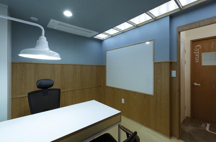 Дизайнерская мебель в офисе