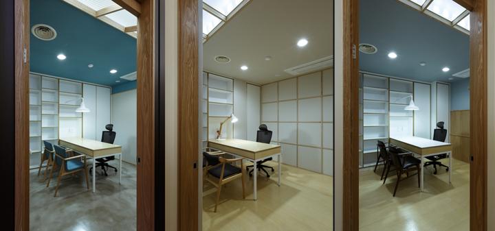 Потолочные окна в офисе