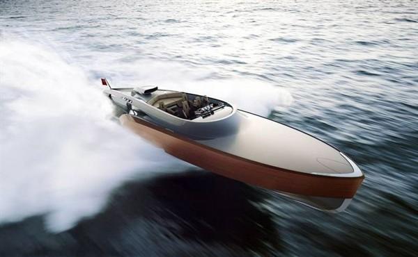 Современная лодка « Aeroboat».