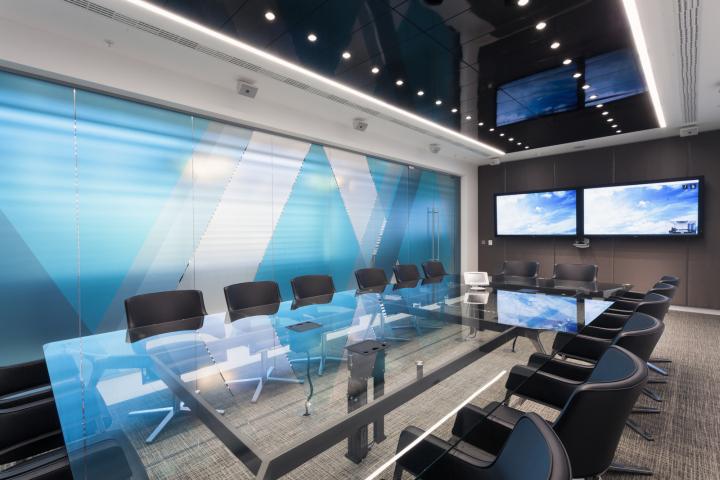 Интерьер офиса компании Aker Solution в Лондоне