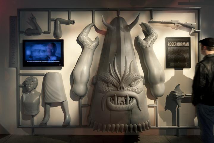 Телевизор для просмотра анонса музея