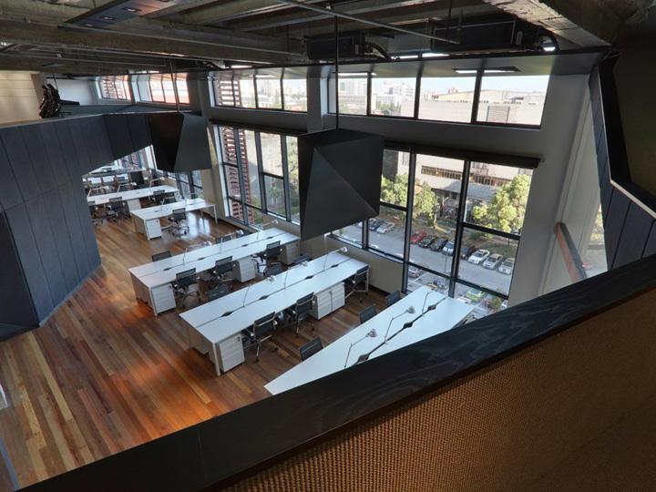 Штаб-квартира компании BGO по проекту дизайнеров студии BYN (Шанхай)